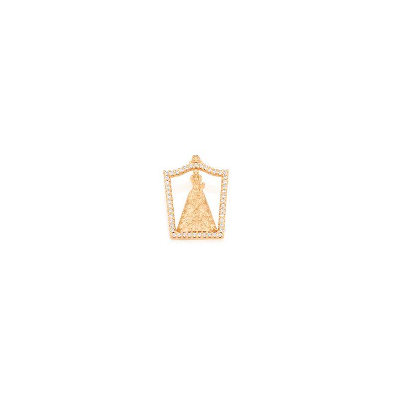 b50c76152320b Joias - Pingentes Folheado a Ouro 18k Adulto Branco – Rommanel